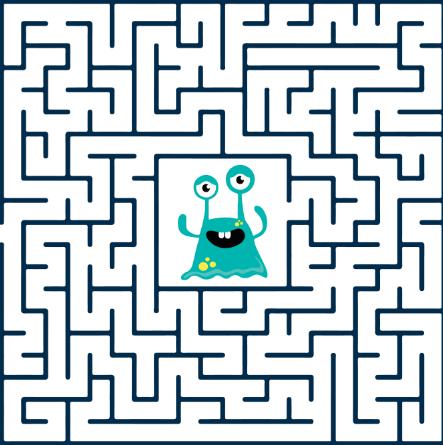 zagadki dla dzieci smieszna zagadka z labiryntem