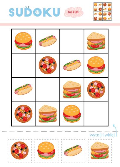 zagadki dla dzieci zagadki logiczne sudoku