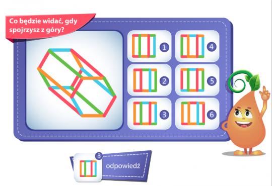zagadki dla dzieci zagadka logiczna na wyobraźnię przestrzenną