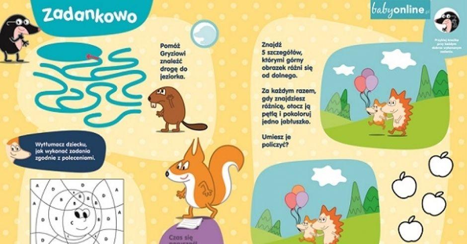 4 zagadki dla przedszkolaka - do druku | Mamotoja.pl