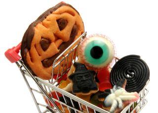 zakupy na Halloween