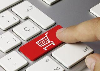 zakupy w sieci, internet, klawiatura