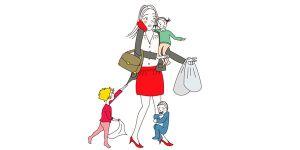 zakupy z dziećmi