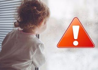 Żaluzje mogą być niebezpieczne dla dziecka