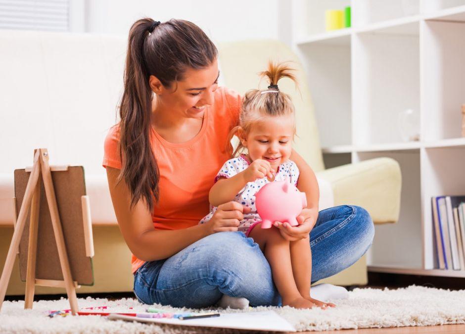 zarządzania pieniędzmi uczymy się w dzieciństwie