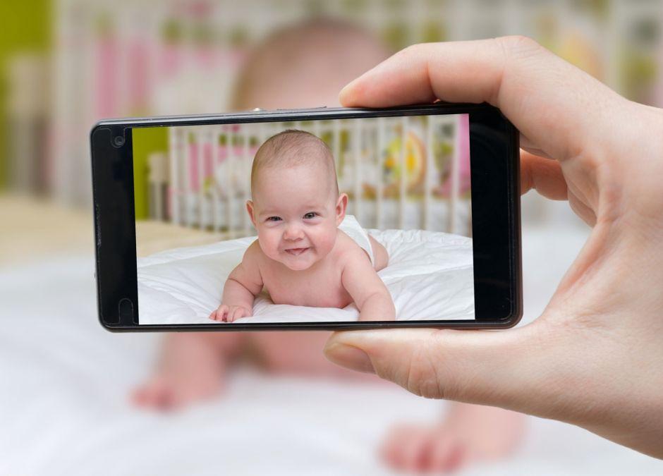 Zdjęcie dziecka w sieci