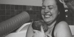 zdjęcie z sesji tuż po porodzie wykonane przez PhotoArt by Jessica