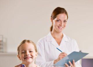 zdrowie dziecka, lekarz, dziecko, badanie
