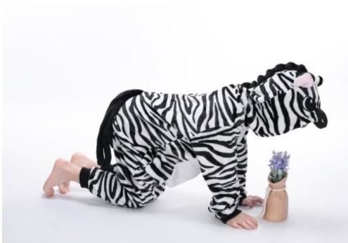 Kigurumi zebra