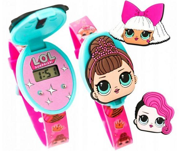 zegarki dla dzieci LOL Surprise