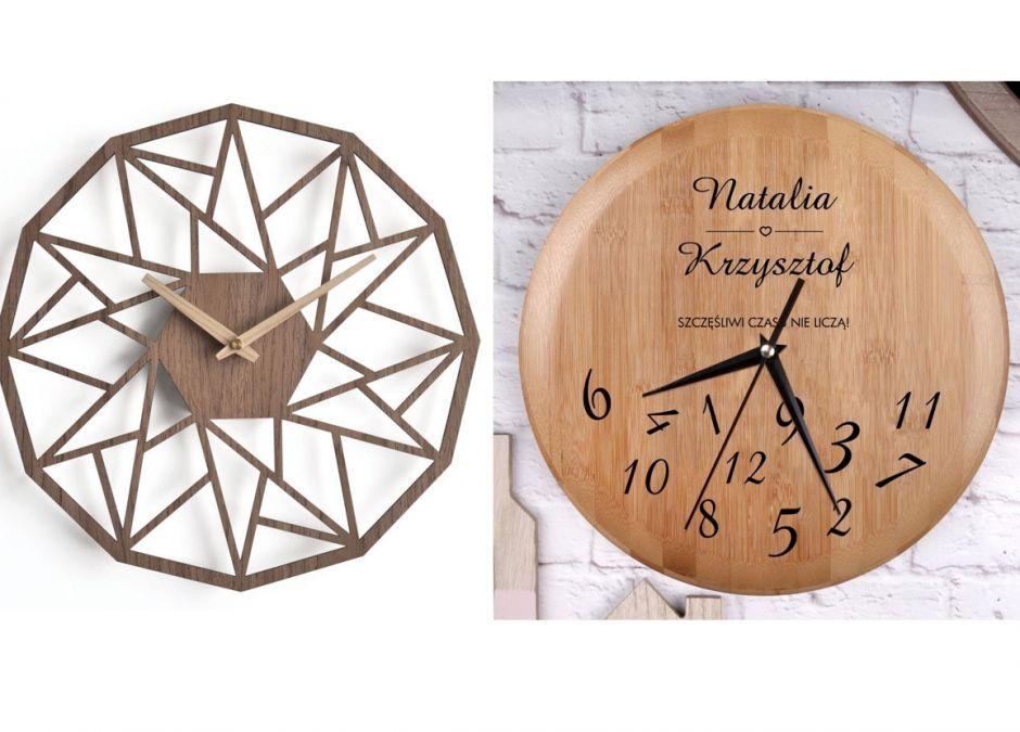 zegary do powieszenia na ścianie drewniane prezent dla rodziców.jpg