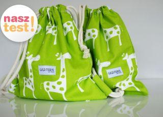 zestaw dla przedszkolaka, plecak dla przedszkolaka, worek przedszkolaka, Guga Marie