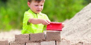 Zestaw do robienia cegieł z piasku