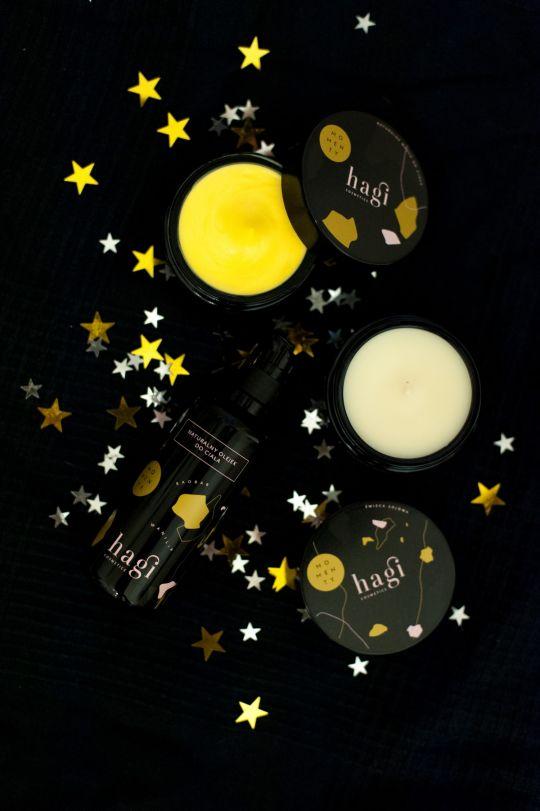 prezent na święta zestaw kosmetyków HAGI MOMEN/TY