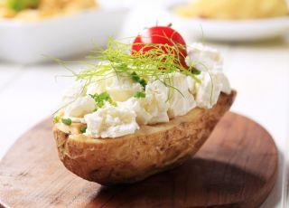 ziemniak, nadzienie, twarożek