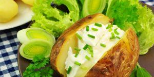 ziemniak, ziemniaki, nadziewany ziemniak