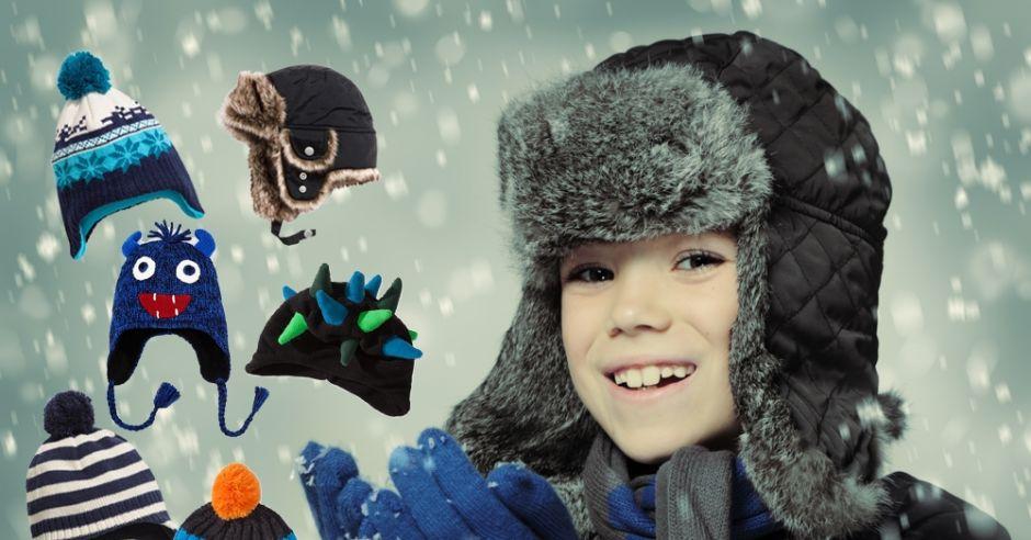 zimowe czapki dla chłopców - zima 2014/2015