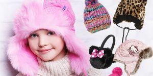 zimowe czapki dla dziewczynek - zima 2014/2015