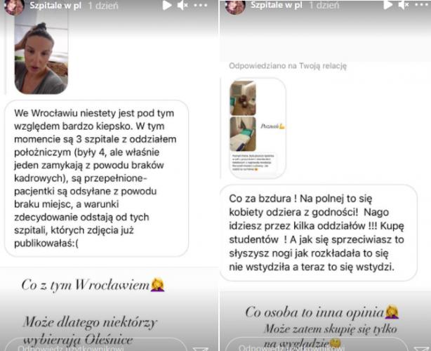 złe warunki w polskich porodówkach