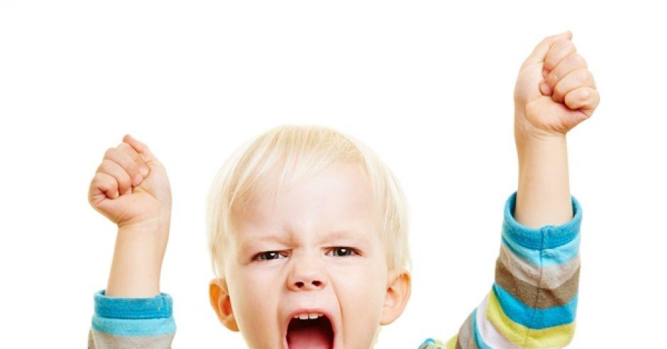 złość, dziecko, krzyk, bunt