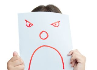 złość, mina, emocje, smutek