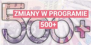 zmiany w programie 500+