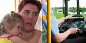 Zmieniała pieluchę w autobusie