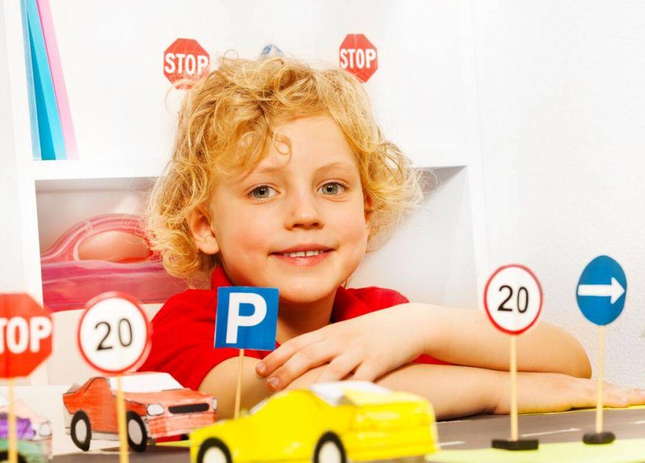 Znaki drogowe dla dzieci