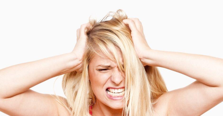 złość, depresja, włosy