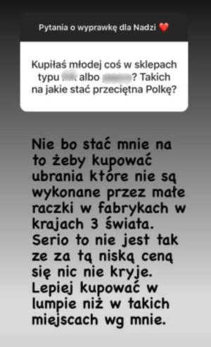 Zofia Zborowska o dyskontach