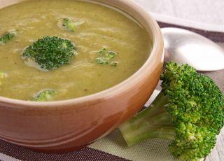 zupa, brokuły, danie, potrawa, jedzenie