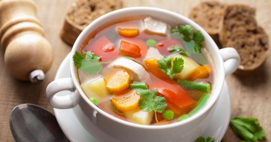 zupa, jarzynowa, warzywa