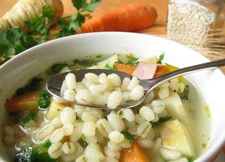 zupa, kasza, pęczak, danie