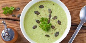 zupa-krem z cukinii z królikiem