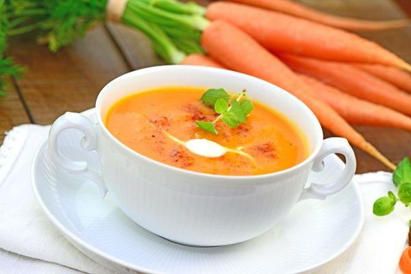 Zupa marchewkowa przepis dla karmiącej mamy