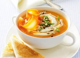 Zupa marchewkowa krem