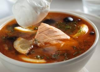 zupa rybna, zupa, ryba, gulasz