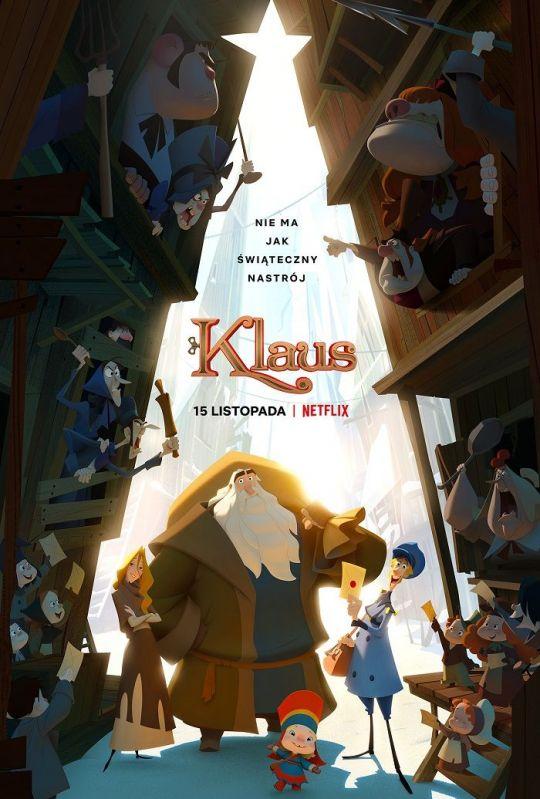 "Zwiastun filmu animowanego ""Klaus"""