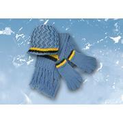 Komplet: czapka, rękawiczki i szalik z akrylu. Różne wzory marki Mariquita - zdjęcie nr 1 - Bangla