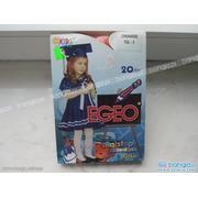 Kids Line, Rajstopy dziecięce gładkie 20 DEN marki Egeo - zdjęcie nr 1 - Bangla