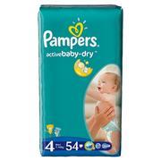 Pampers, Active Baby-Dry, Pieluszki Maxi (7-14 kg) marki Pampers - zdjęcie nr 1 - Bangla