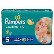 Pampers, Active Baby-Dry, Pieluszki Junior (11-18 kg) marki Pampers - zdjęcie nr 1 - Bangla