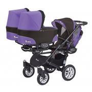 Trippy, Wózek dla trojaczków marki BabyActive - zdjęcie nr 1 - Bangla
