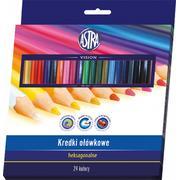 Kredki ołówkowe heksagonalne marki Astra - zdjęcie nr 1 - Bangla