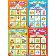 Zabawki z papieru - książeczka wycinanka dla dzieci marki Wydawnictwo MD - zdjęcie nr 1 - Bangla