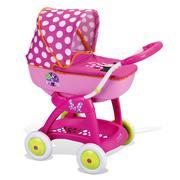 Myszka Minnie, wózek głęboki dla lalek marki Smoby - zdjęcie nr 1 - Bangla