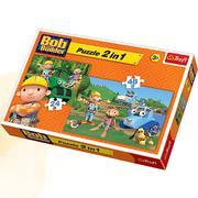 Bob Budowniczy, puzzle 2w1 marki Trefl - zdjęcie nr 1 - Bangla