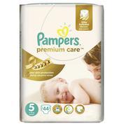 Pampers Premium Care, Pieluszki junior 5 z jedwabistą powłoczką i chłonnymi kanalikami marki Pampers - zdjęcie nr 1 - Bangla