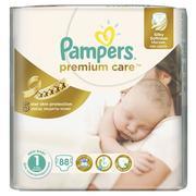 Pampers Premium Care, Pieluszki 1 z jedwabistą powłoczką i chłonnymi kanalikami marki Pampers - zdjęcie nr 1 - Bangla