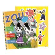 Zebra Zou Activity, Kolorowanki, naklejki marki Edipresse Książki - zdjęcie nr 1 - Bangla